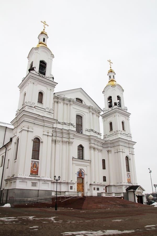 Собор предположения Витебска, Беларусь стоковое фото rf