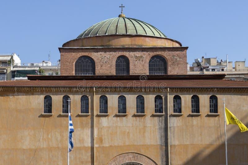 Собор Святой Софии в Салониках, Греция стоковое фото