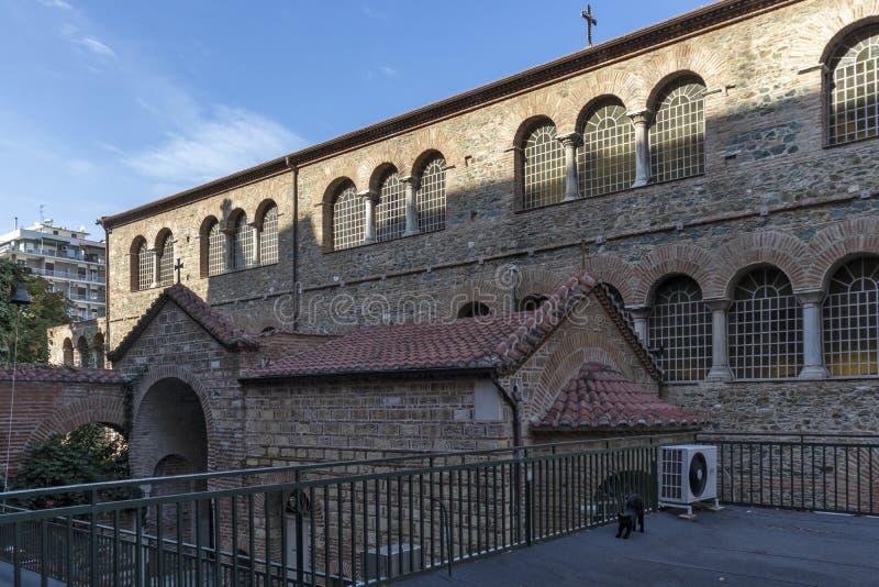 Собор Святой Софии в Салониках, Греция стоковые изображения rf