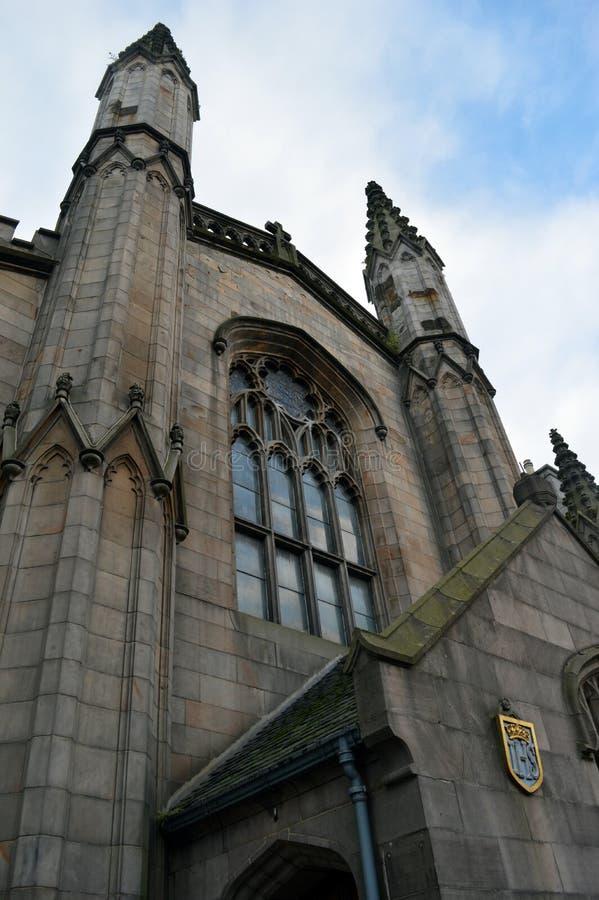 Собор Сент-Эндрюса епископский, Абердин Шотландия стоковое фото rf