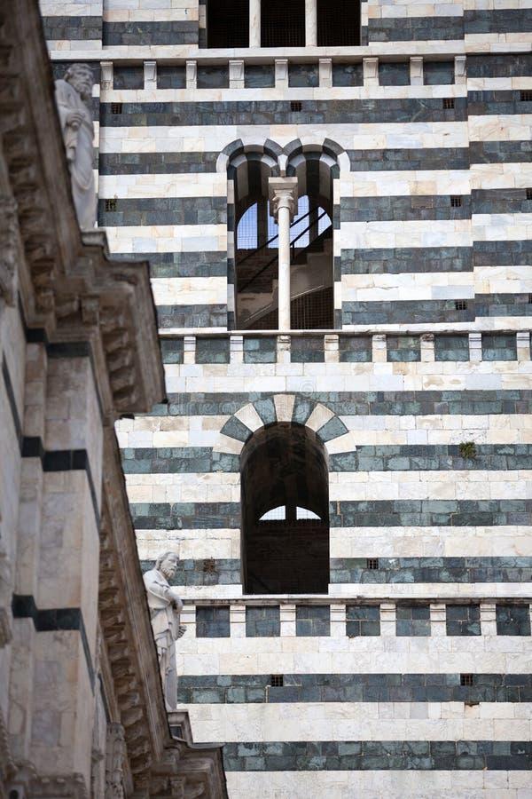 Собор Сиены в Тоскане, Италии стоковая фотография