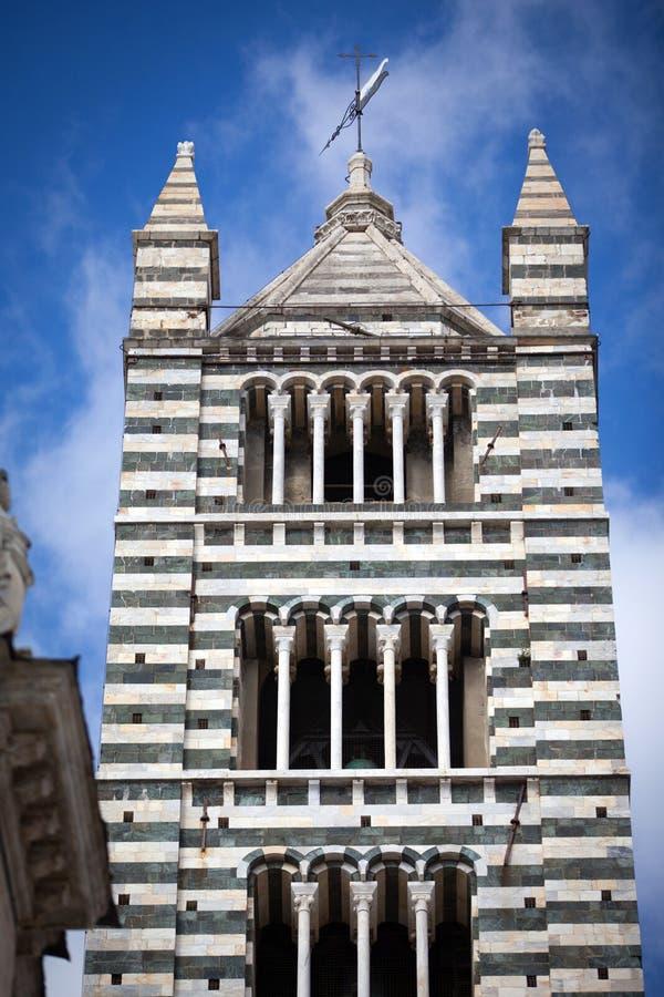 Собор Сиены в Тоскане, Италии стоковые фото
