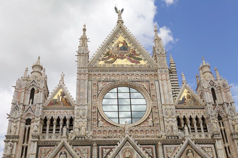 Собор Сиены, Тоскана, Сиена, Италия стоковая фотография rf