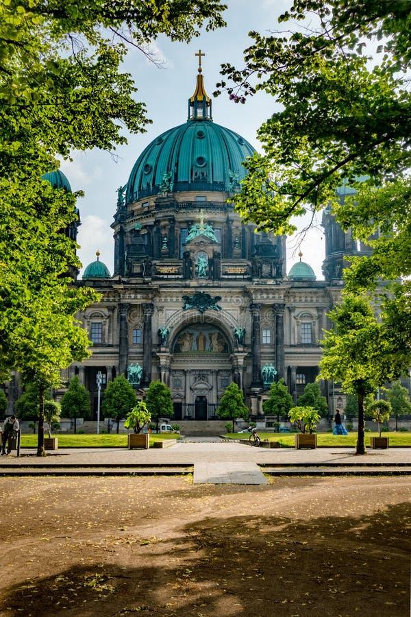 Собор собора Берлина Берлина, Германии стоковые изображения rf
