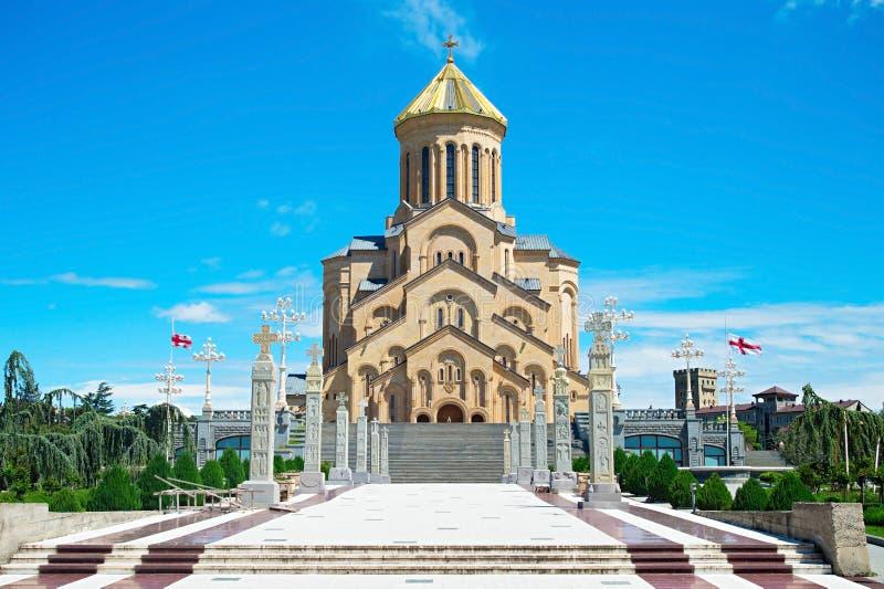 Собор Тбилиси, Georgia стоковое изображение