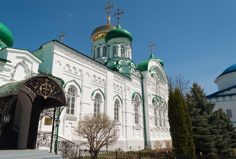 Собор троицы монастыря Raifa мужского Bogoroditssky. Tatars стоковое изображение rf