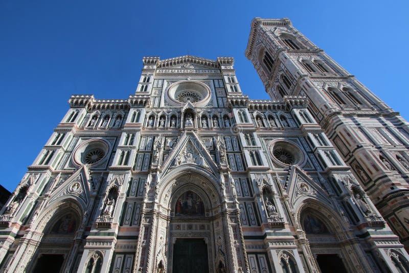 Собор Флоренса, Италии, лицевой стороны стоковая фотография rf