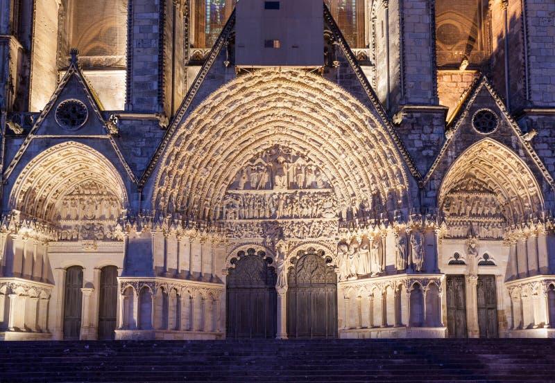 Собор Франция Буржа стоковая фотография