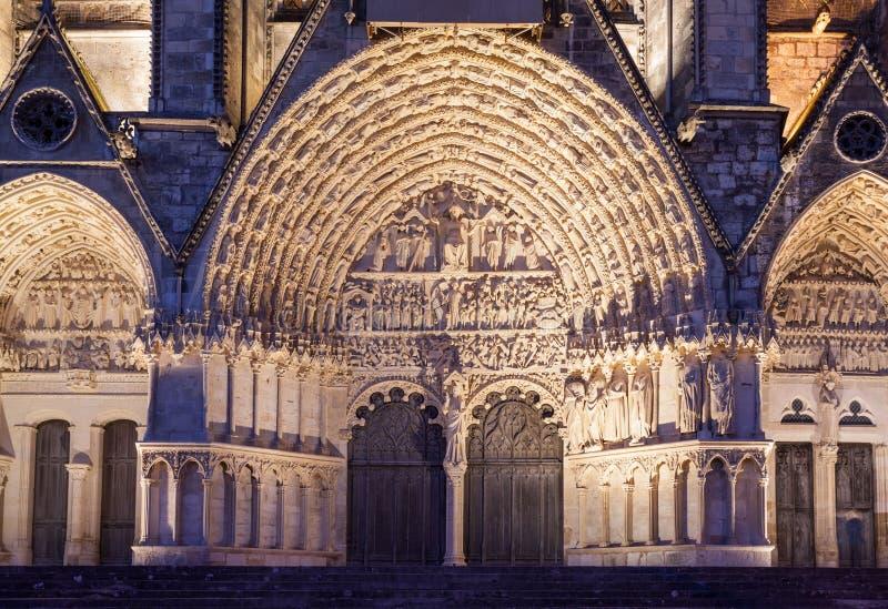 Собор Франция Буржа стоковые изображения rf