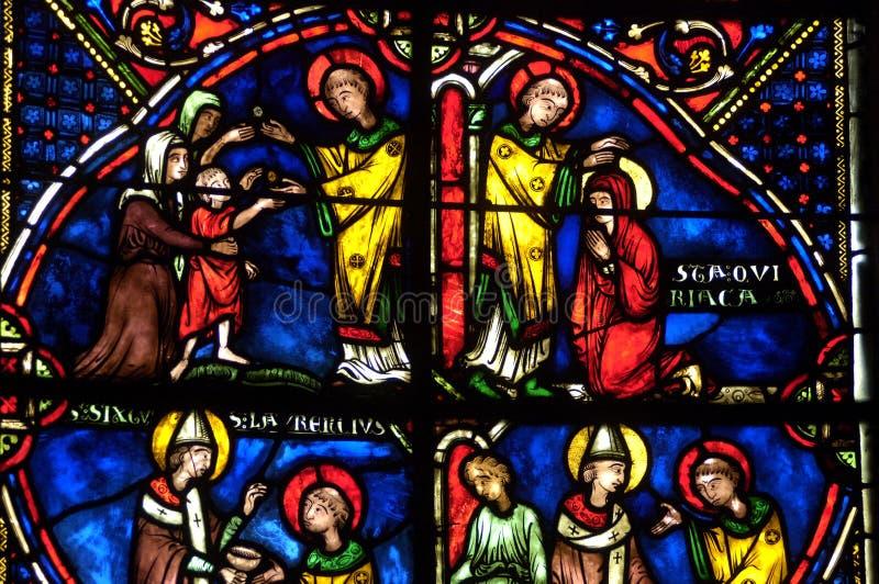 собор Франция bourges стоковые фото