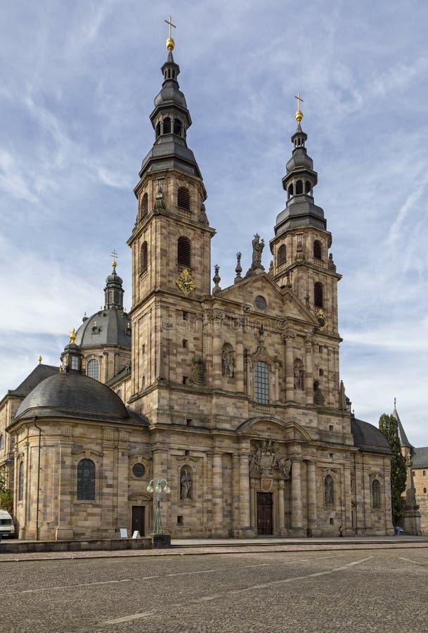 Собор Фульды, Hesse, Германии стоковое фото
