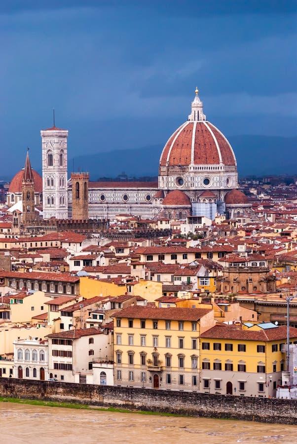 Собор Флоренса стоковое изображение rf