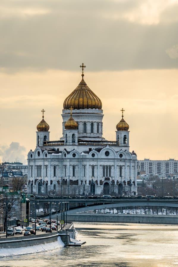 Собор Христоса спаситель в Москве стоковая фотография