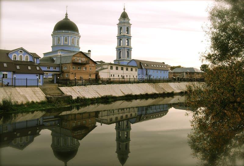 Собор явления божества, Noginsk, Россия стоковые фотографии rf