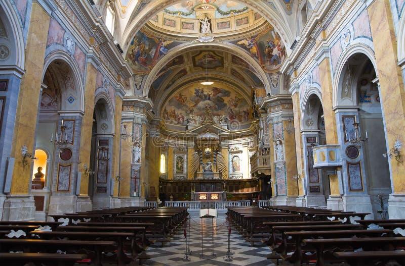Собор Amelia. Умбрия. Италия. стоковые изображения
