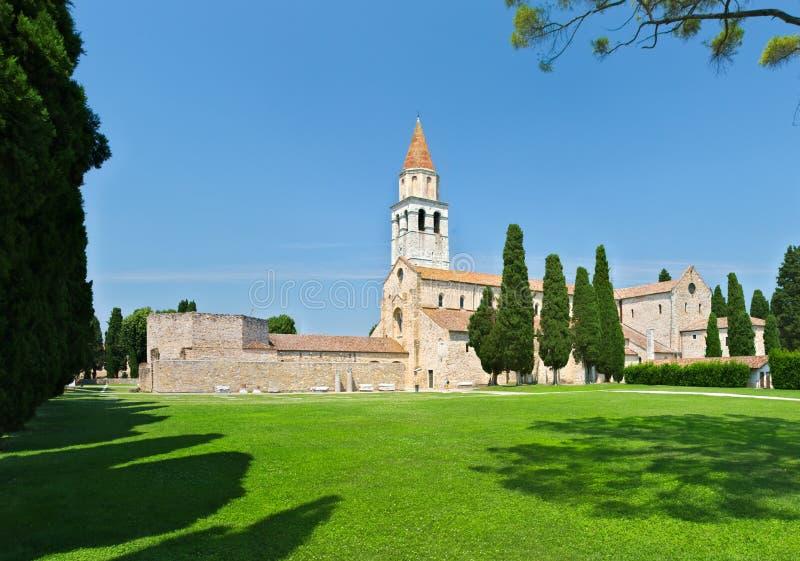 Собор Aquileia стоковая фотография rf