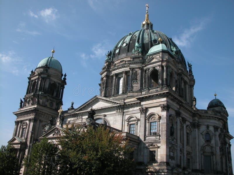 собор berlin стоковое изображение
