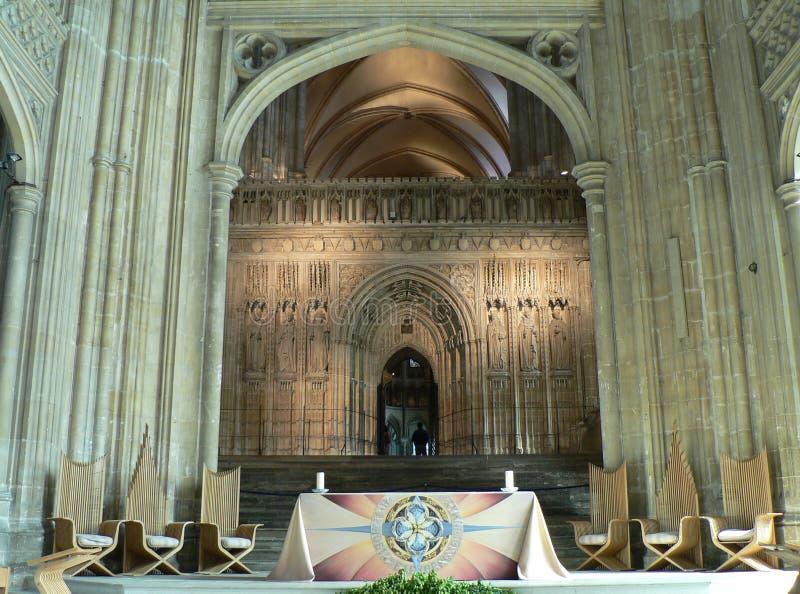 собор canterbury стоковые изображения rf