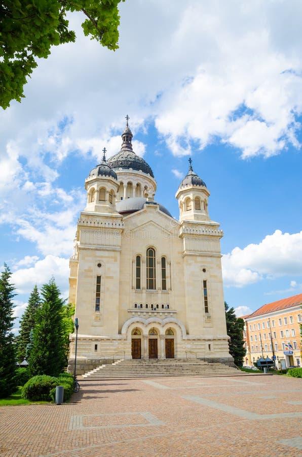 Собор Cluj Napoca правоверный стоковые фото