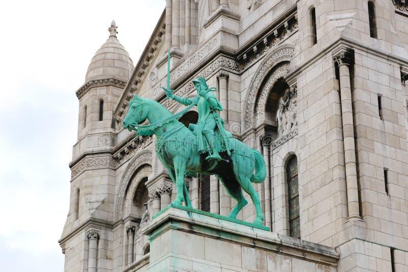 Собор coeur Sacre - Париж стоковые фото