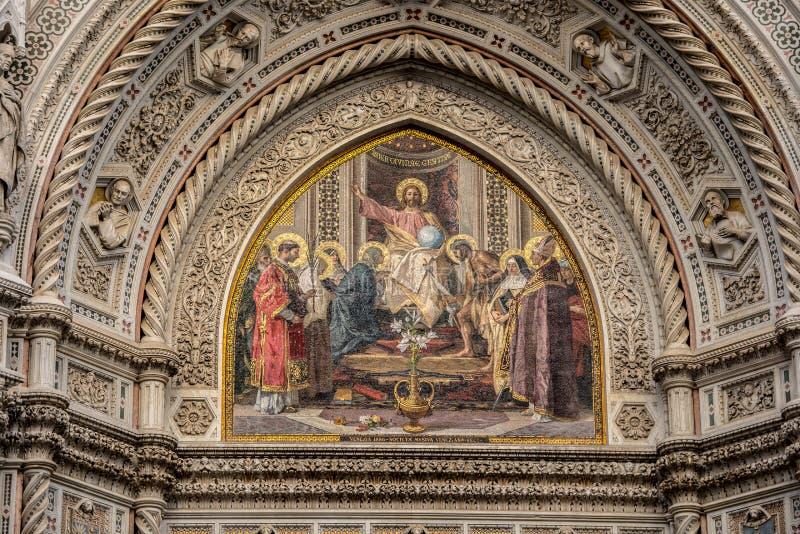 собор florence Италия стоковая фотография