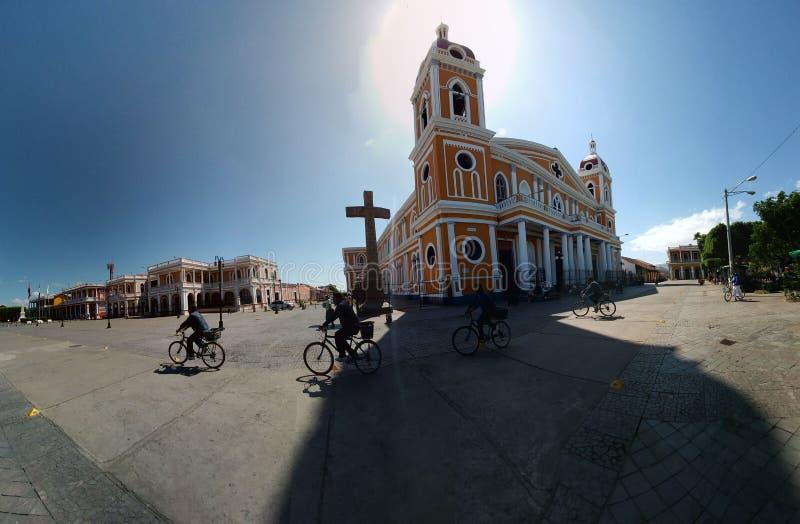собор granada Никарагуа стоковые изображения rf