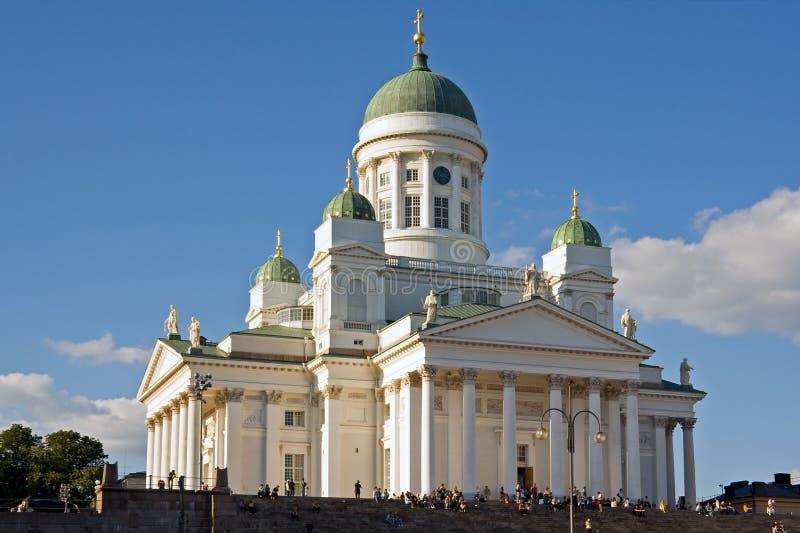 собор helsinki стоковая фотография
