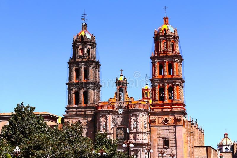 Собор IV San Luis potosi стоковая фотография