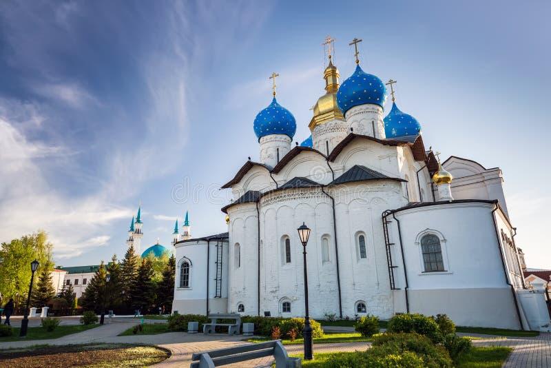 собор kazan kremlin аннунциации стоковое фото rf