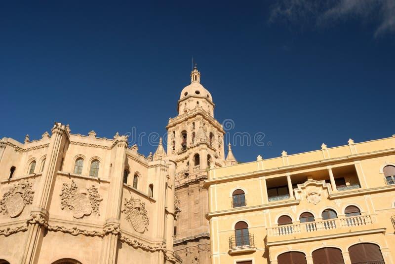 собор maria murcia santa стоковое изображение rf