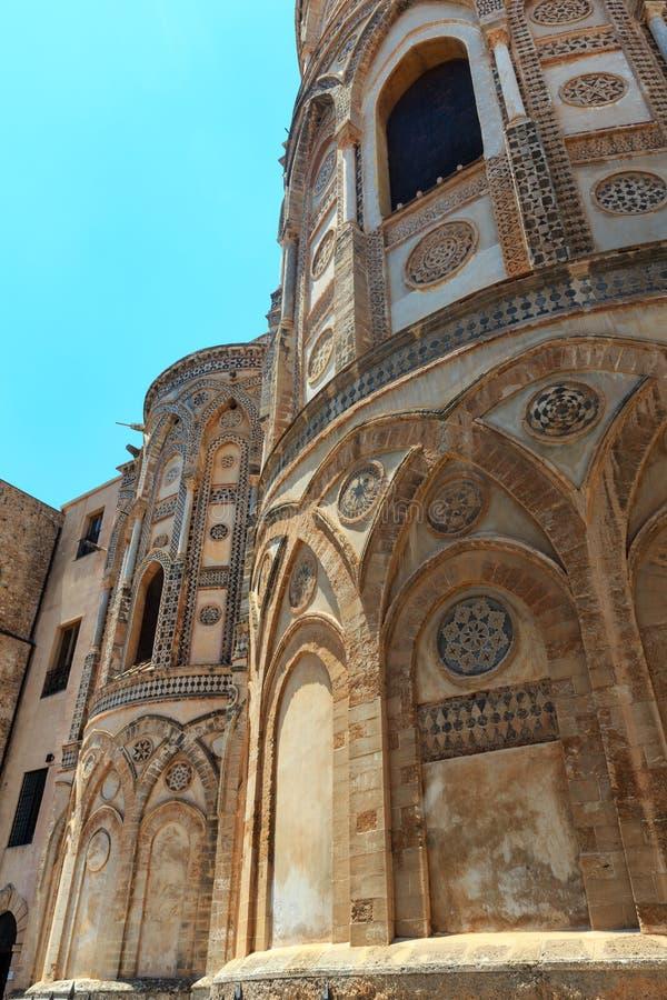 Собор Monreale, Палермо, Сицилия, Италия стоковые фото