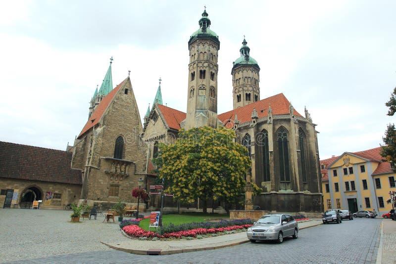 Собор Naumburg стоковые изображения