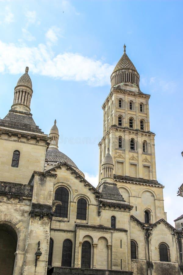 Собор Perigueux, Франция стоковое изображение rf
