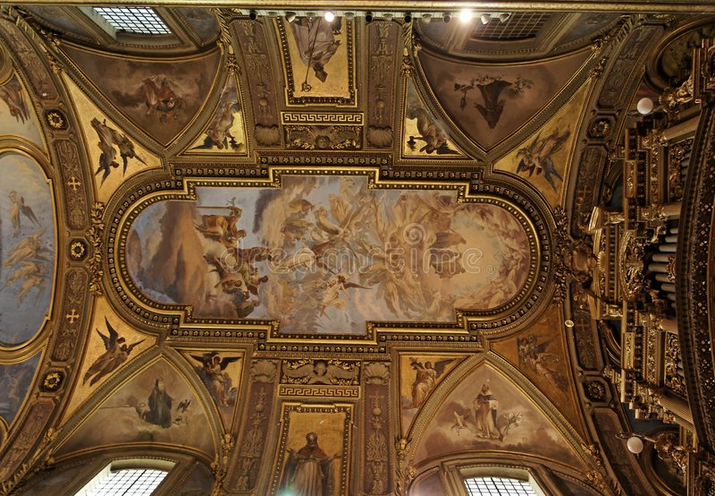 собор pompeii стоковое фото rf