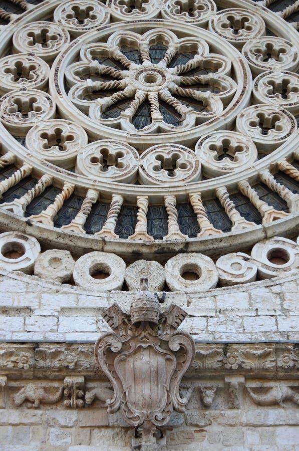 Собор Rufino Святого в Assisi стоковые изображения