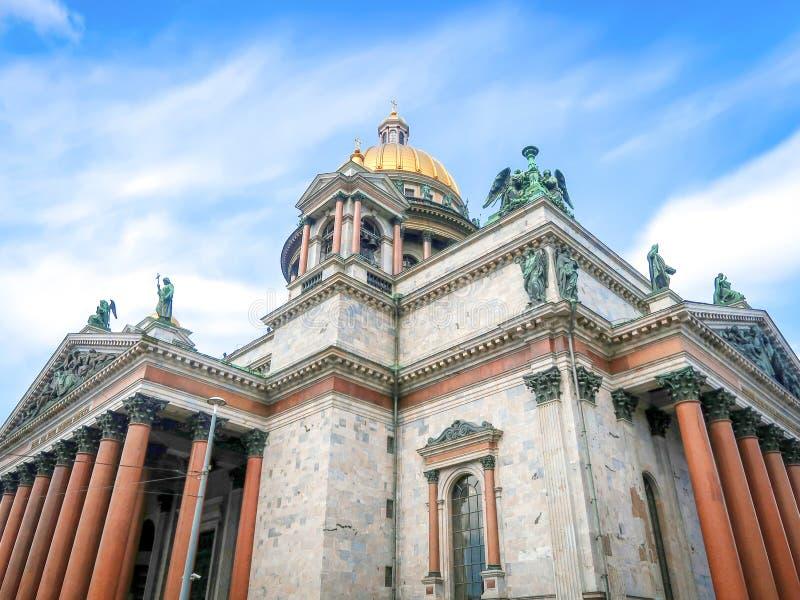 Собор ` s St Исаак, Санкт-Петербург Россия стоковое изображение
