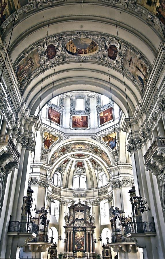 собор salzburg стоковая фотография rf