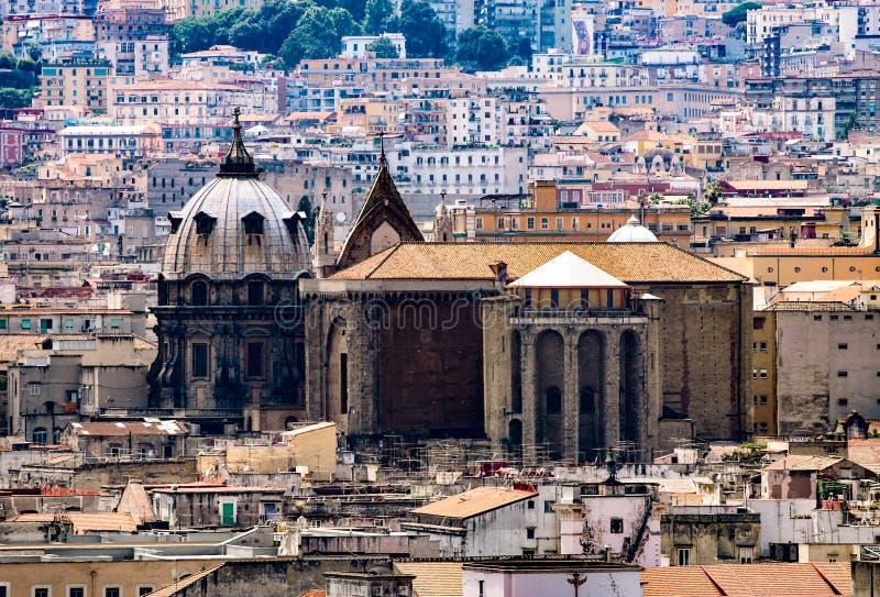 Собор San Gennaro в Неаполь стоковая фотография
