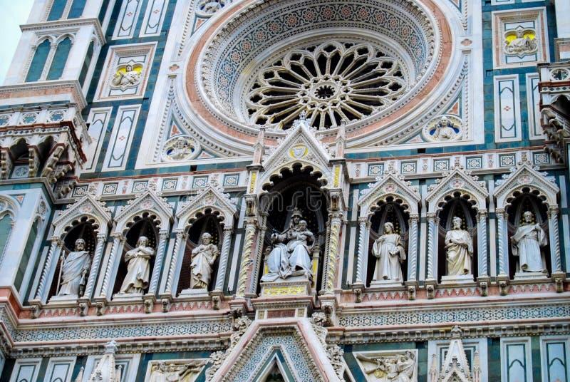 Собор Santa Maria del Fiore Флоренса Италии стоковые изображения