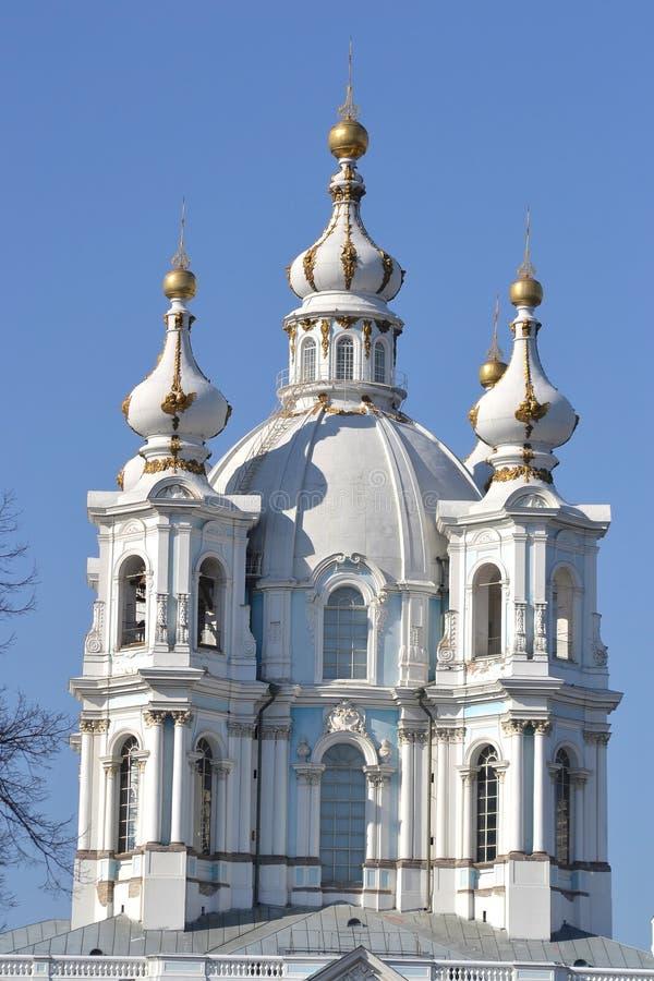 Собор Smolny воскресения стоковые фото