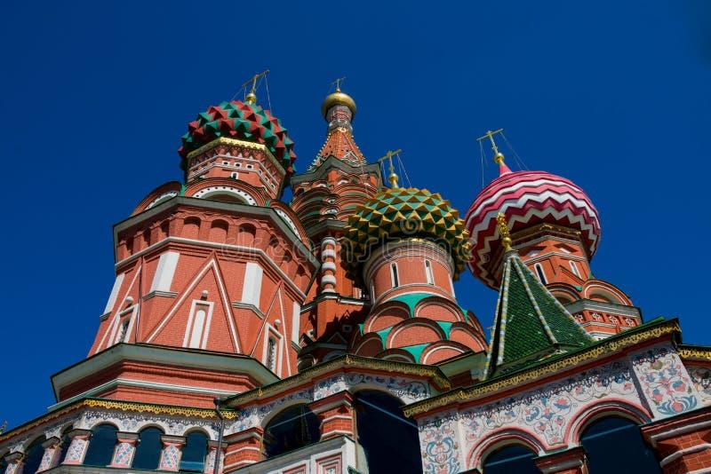 Собор Sobor Vasiliya Blazhennogo базилика Святого стоковые изображения rf