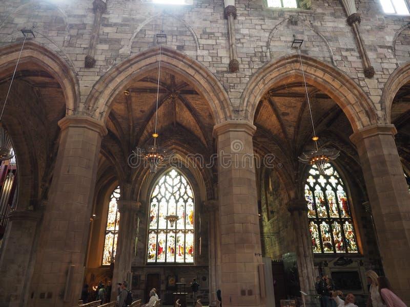 Собор St Giles в Эдинбурге стоковое изображение