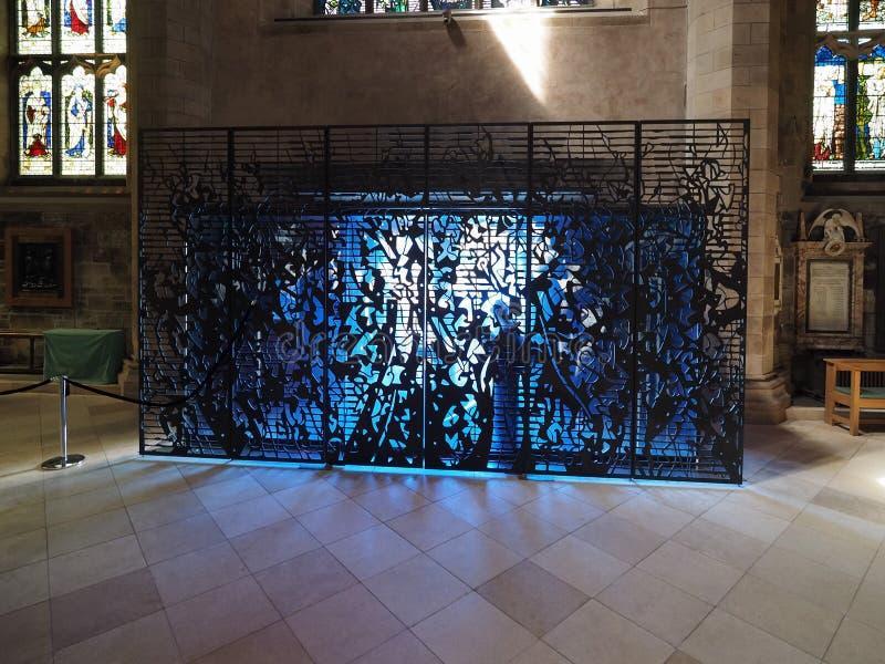 Собор St Giles в Эдинбурге стоковые изображения