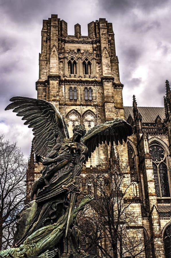 Собор St. John божественное стоковая фотография rf