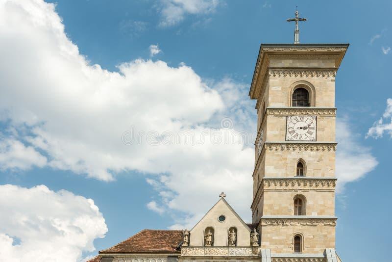 Собор St Michael римско-католический стоковое изображение rf