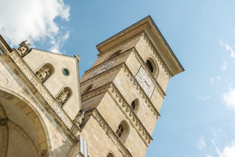Собор St Michael римско-католический стоковые изображения