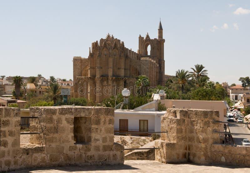 Собор St Nicholas - мечеть Lala Mustafa стоковое фото