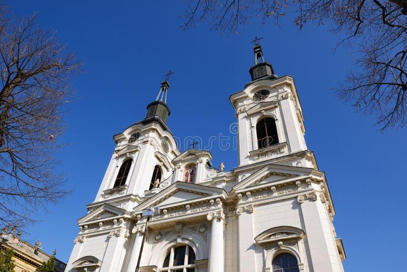 Собор St Nicholas, Sremski Karlovci, Сербии стоковые изображения
