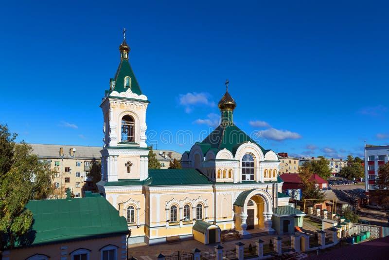 Собор St Nicholas Valuyki Россия стоковые фото