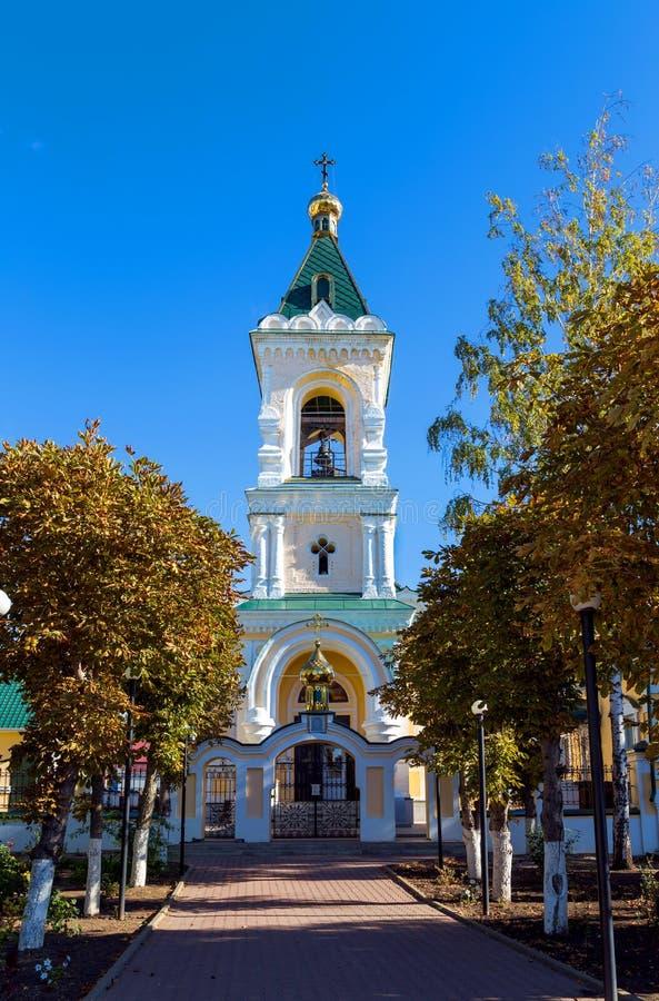 Собор St Nicholas Valuyki Россия стоковая фотография rf